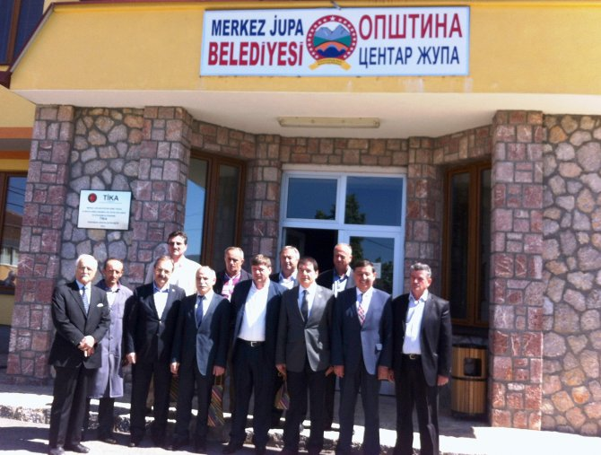 Atatürk'ün dedesinin köyü, Havza Belediyesi ile kardeş oldu