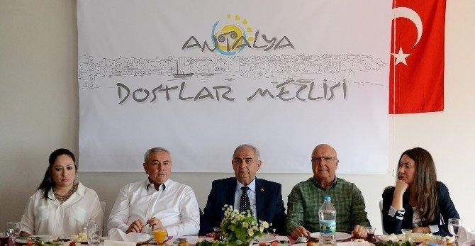 ATSO Başkanı Çetin, Dostlar Meclisi'nin Konuğu Oldu