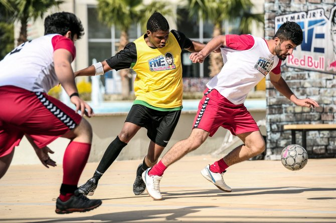 Samsun'dan Brezilya'ya sokak futbolu coşkusu