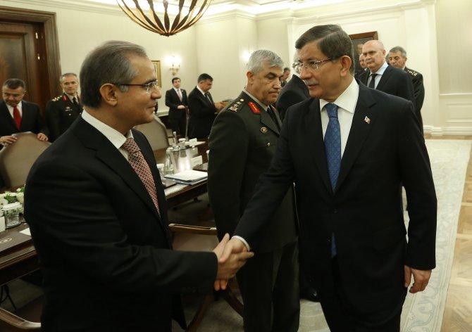 Çankaya Köşkü'nde güvenlik toplantısı