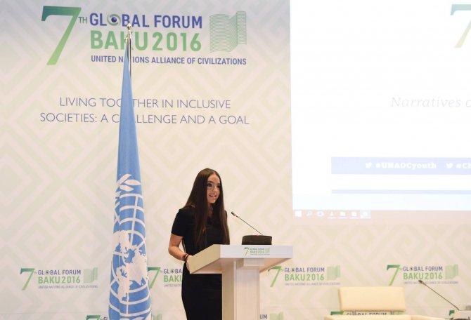 BM Medeniyetler İttifakı 7. Küresel Forumu Bakü'de başladı