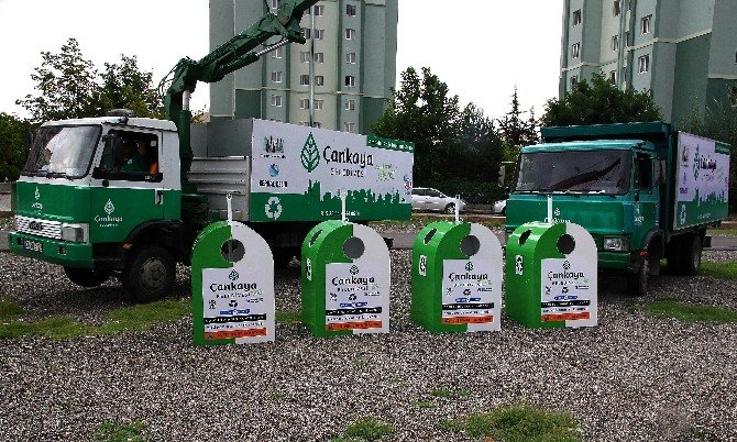 Çankaya Belediyesi Ambalaj Atıkları Toplama Projesine Devam Ediyor