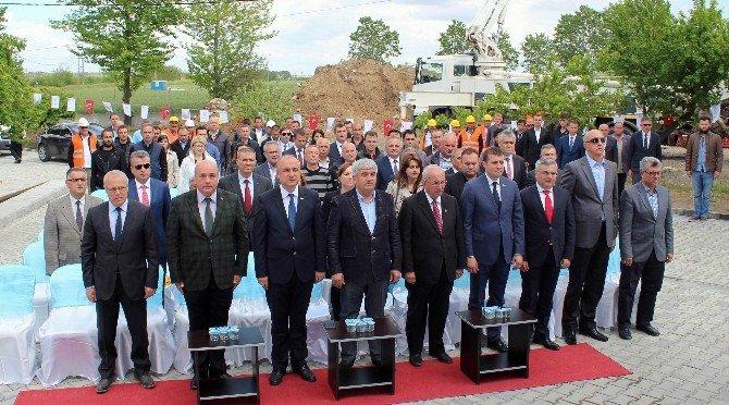 Süleymanpaşa Sarılar İçme Suyu İsale Hattı 1'inci Etap İnşaatının Temeli Düzenlenen Törenle Atıldı