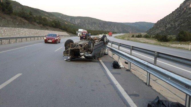 Kargı'da Otomobil Takla Attı: 4 Yaralı