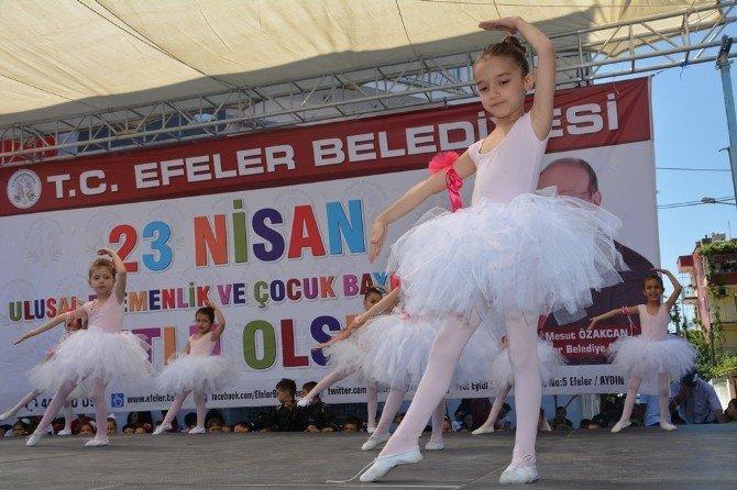 Efeler Belediyesi'nden Çocuklara 23 Nisan Armağanı
