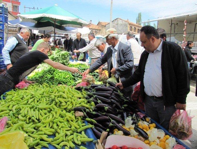 Hisarcık'ta Sebze Fiyatları 1 Liraya Kadar Düştü
