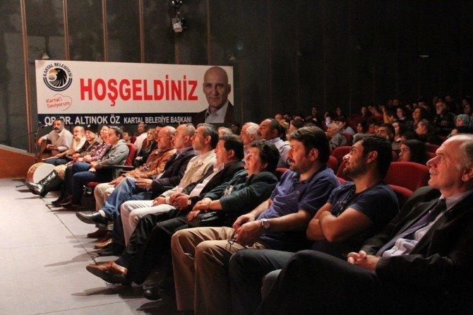 Kartal Belediyesi Çalışanları Profesyonel Tiyatroculara Taş Çıkarttı