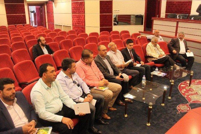 Başkan Hiçyılmaz, 2 Ayrı Meslek Komitesi Toplantısında Üyeleri Dinledi