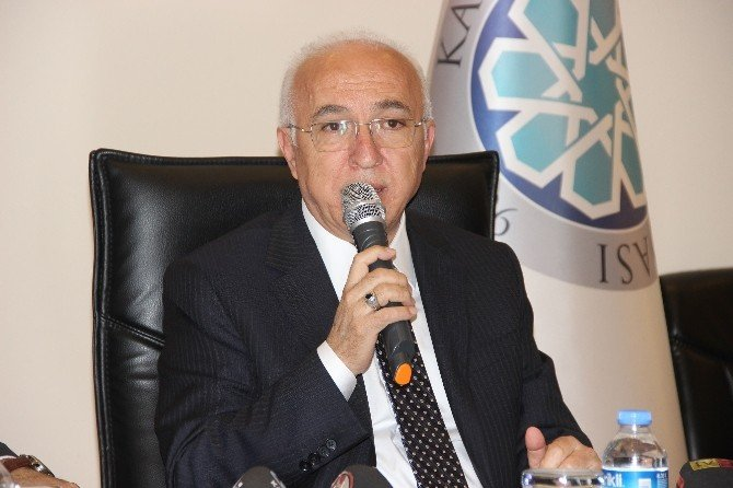 Kayseri Ticaret Odası Yönetim Kurulu Başkanı Mahmut Hiçyılmaz:
