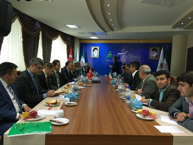 Erzurum'dan Tebriz Ve Urumiye'ye İşbirliği Köprüsü