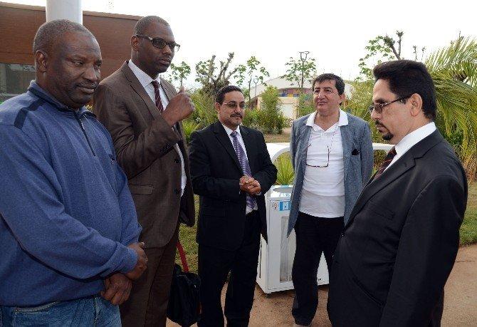 Moritanya Kültür Bakanı EXPO 2016'da