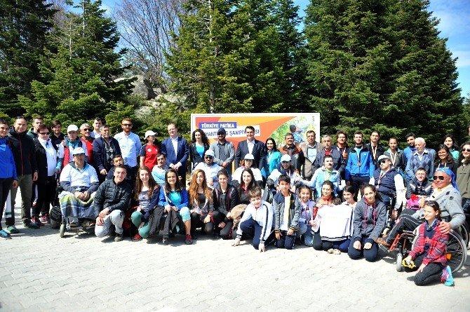 Uludağ'da Patika Oryantiring Heyecanı