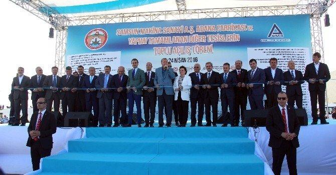 Erkan Teknik Meslek Lisesi'ni Erdoğan Açtı