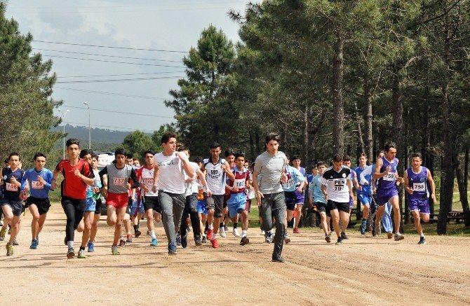Pendik'te Atletizm Kros Yarışmaları Düzenlendi