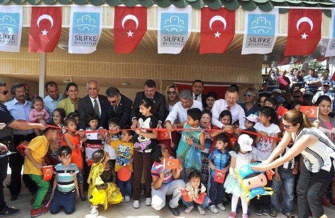 Silifke'de Göksu Çay Bahçesi Hizmete Açıldı