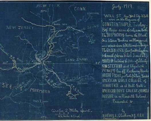 Tarihi Harita Boğaziçi Üniversitesi'nin New York Etkinliğine Damga Vurdu