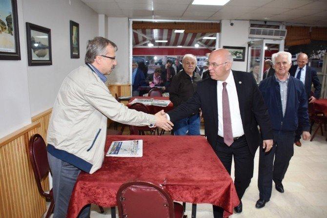 Süleymanpaşa Belediyesi Mahalle Buluşmalarına Hürriyet Mahallesi İle Devam Etti