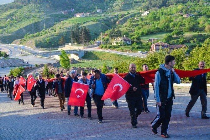 Tokat'ta 57. Alay Çanakkale Vefa Yürüyüşü