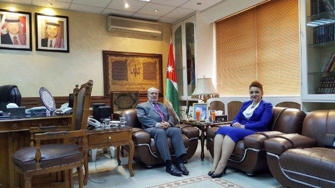 Atasoy, Ürdün'de Bakan Dahoud Tarafından Kabul Edildi