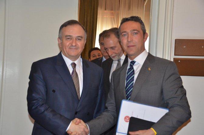 TÜSİAD heyetinden MHP'ye ziyaret