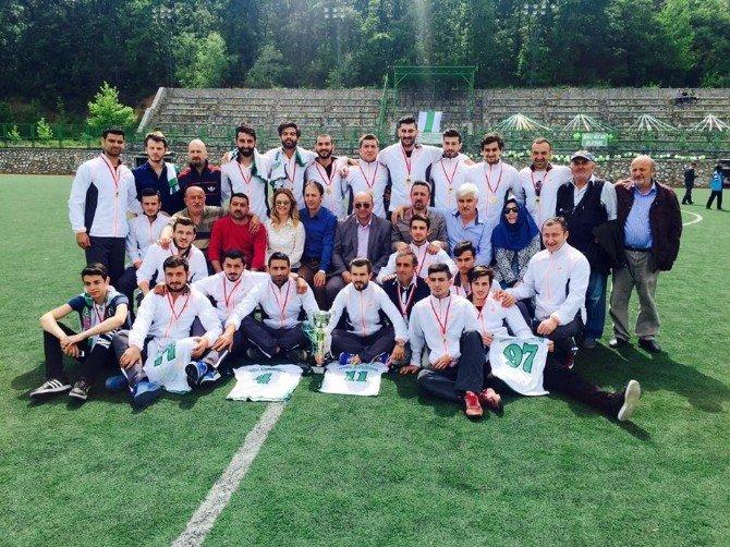 Termal Belediyespor Şampiyonluk Kupasına Kavuştu