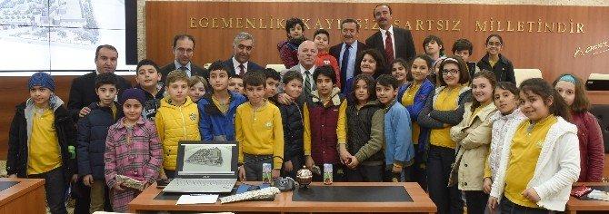 Başkan Sekmen'den Öğrencilere Yerel Yönetim Dersi