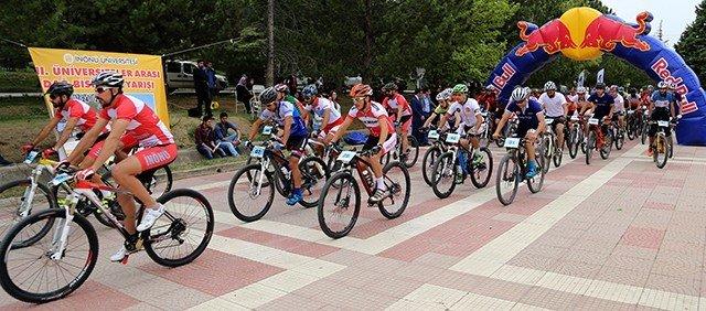 2. Üniversiteler Arası Dağ Bisiklet Yarışı Yapıldı