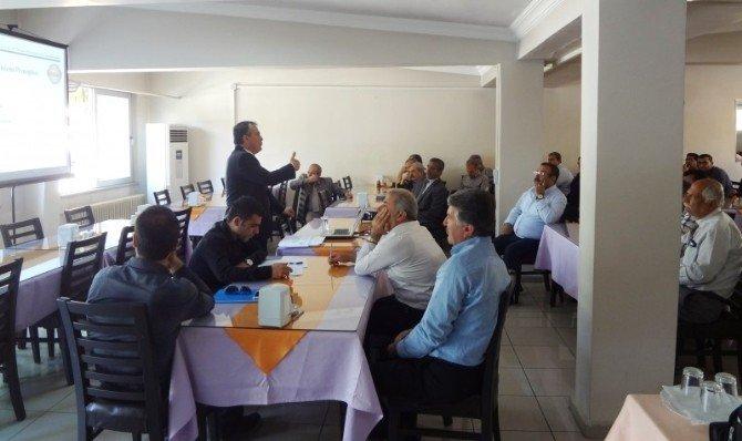 Kalite Yönetim Sistemi Bilgilendirme Eğitimi Verildi