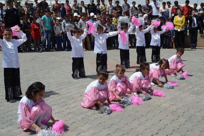 Suriyeli Çocuklara Aşı Çalışmaları Başladı