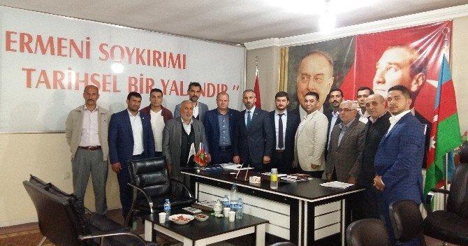 AK Ocaklar Genel Başkanı Yiğit'ten ASİMDER' E Ziyaret