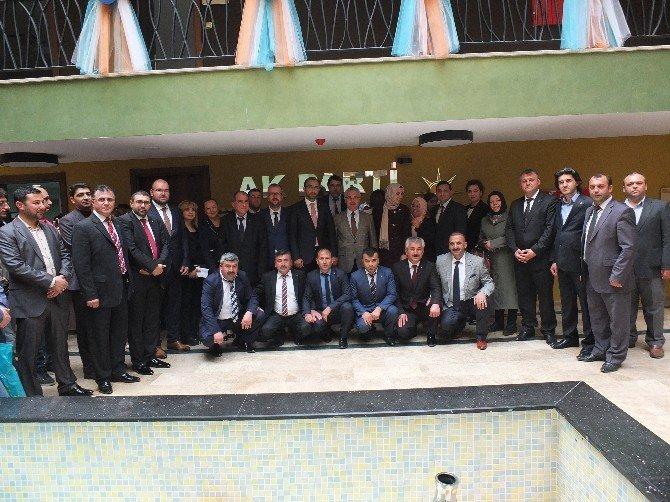 AK Parti Genel Başkan Yardımcısı Mustafa Ataş, Çorlu İlçe Teşkilatı'nı Ziyaret Etti