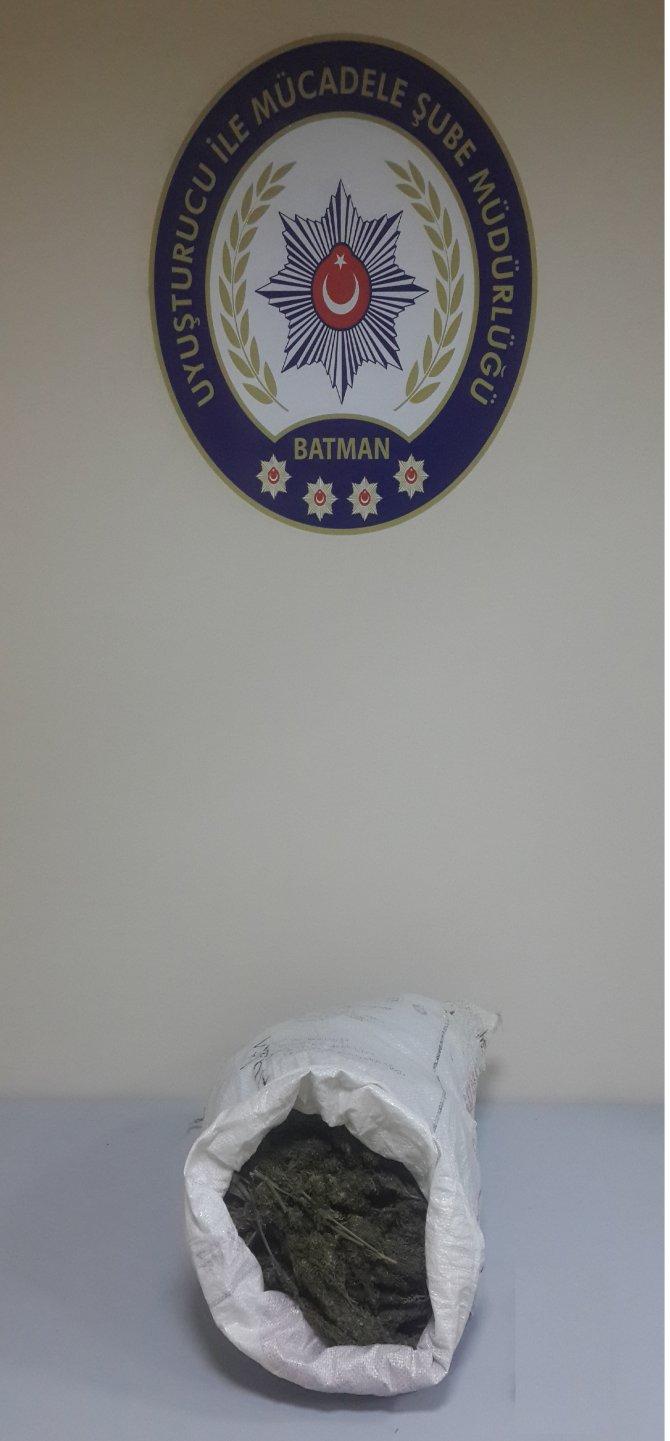 Batman'da uyuşturucu operasyonu: 10 gözaltı