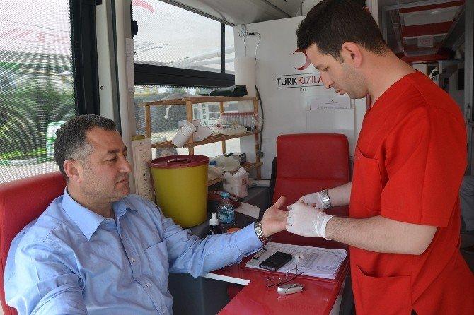 Besaş'ta Kan Bağışı Kampanyası