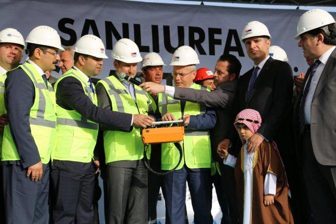 Şanlıurfa'da 100 milyon liralık dev tesisin temeli atıldı