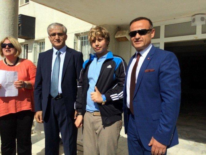 Datça'da TEOG'da Başarı Altın Ve Saatle Ödüllendirildi