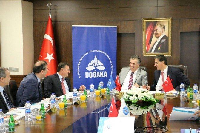 Doğaka 71. Yönetim Kurulu Toplantısı İskenderun'da Yapıldı