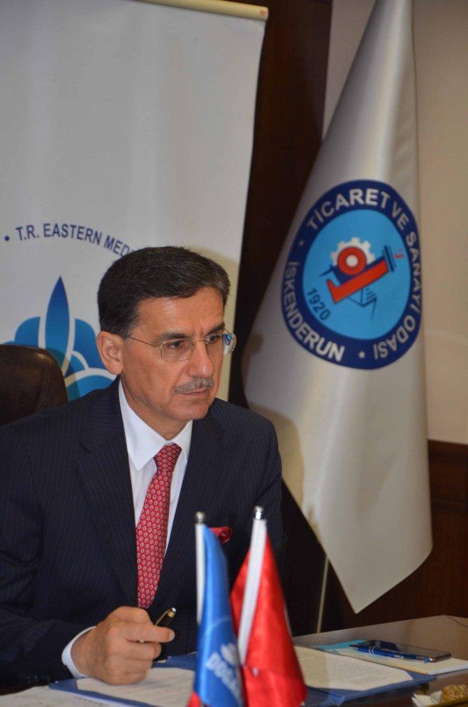 DOĞAKA'nın toplantısı İskenderun'da gerçekleştirildi