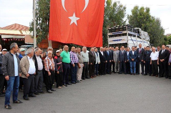 Polis Ve Askerlere Antalya'dan Meyve Takviyesi