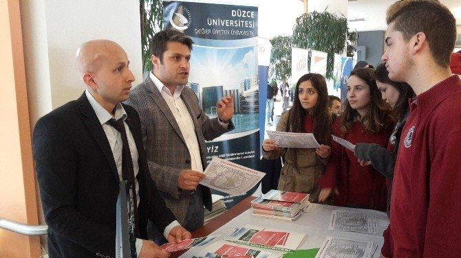 Düzce Üniversitesi Gebze'de Tanıtıldı