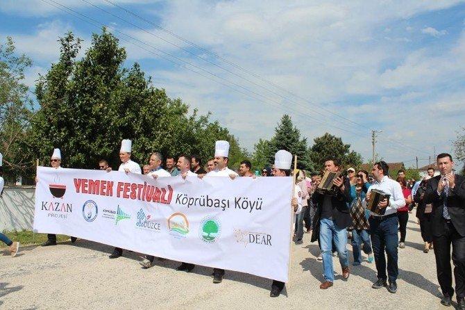 Yemek Festivali Renkli Görüntülere Sahne Oldu