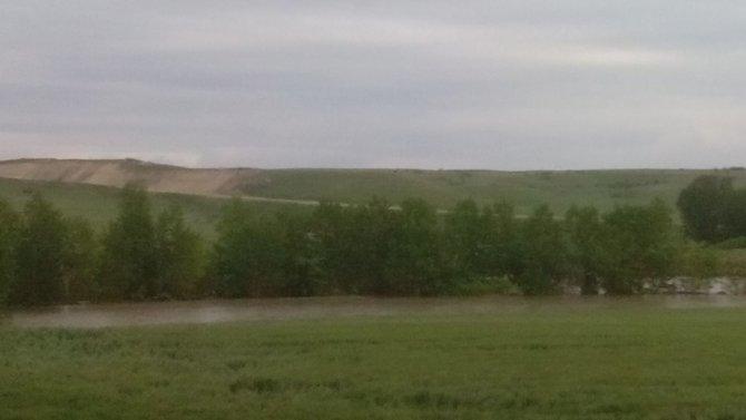 Yağış sonrası Ogulpaşa deresi taştı 20 bin dönüm tarım arazisi su altında kaldı