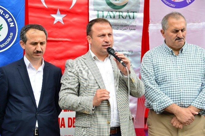 Erbaa'da Terör Mağdurlarına Yardım Kampanyası
