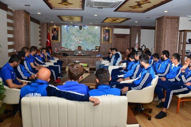 Erbaaspor'dan Başkan Yıldırım'a Ziyaret