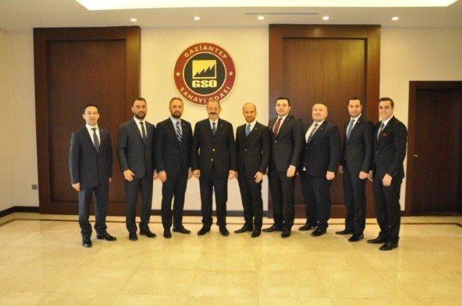 Gagiad Yönetimi'nin Ziyaretleri Sürüyor