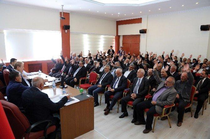 Gümüşhane'de Köylere Hizmet Götürme Birliği Meclis Toplantısı Yapıldı