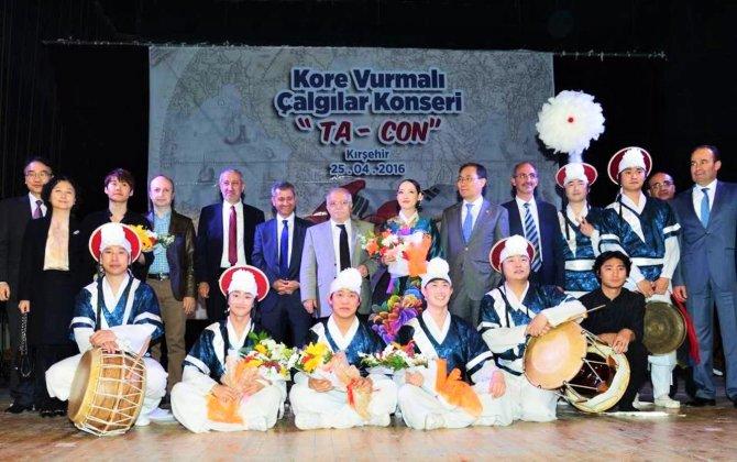 Kırşehir'de Güney Kore Ta-Con rüzgârı esti