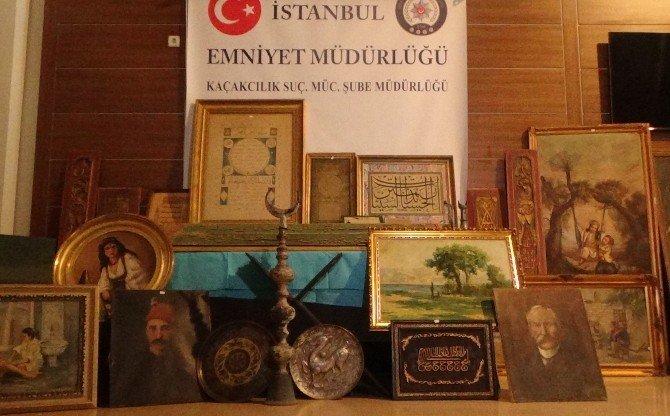 İstanbul'da 20 Milyon Dolarlık Tarihi Eser Operasyonu
