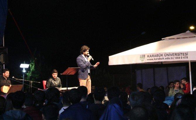 KBÜ'de Serdar Tuncer İle Şiir Tadında Bir Akşam