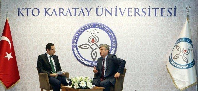 Mesleğin Duayenleri KTO Karatay Üniversitesi Öğrencileri İle Buluştu