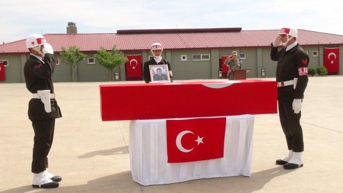 Nusaybin şehidi törenle memleketine uğurlandı